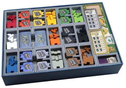 Folded Space - Insert Compatible with Terra Mystica: Merchants of the Seas