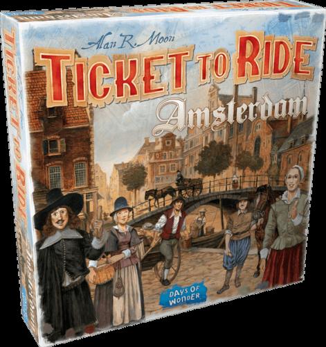 Ticket to Ride: Amsterdam (edycja angielska)
