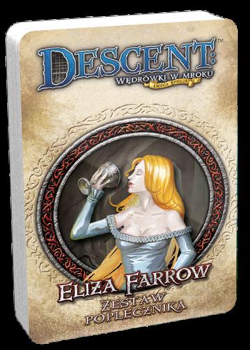 Descent: Wędrówki w Mroku - Eliza Farrow - talia poplecznika