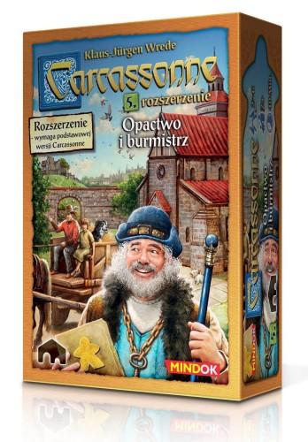 Carcassonne: Opactwo i Burmistrz (druga edycja)