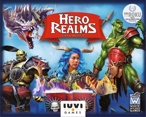 Hero Realms (edycja polska) (12 kart promo i 2 liczniki życia)
