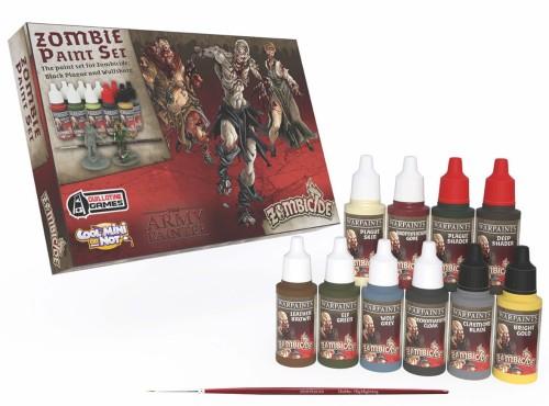 Warpaints Zombicide Black Plague Paint Set