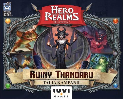 Hero Realms: Ruiny Thandaru (12 kart promo i 2 liczniki życia)