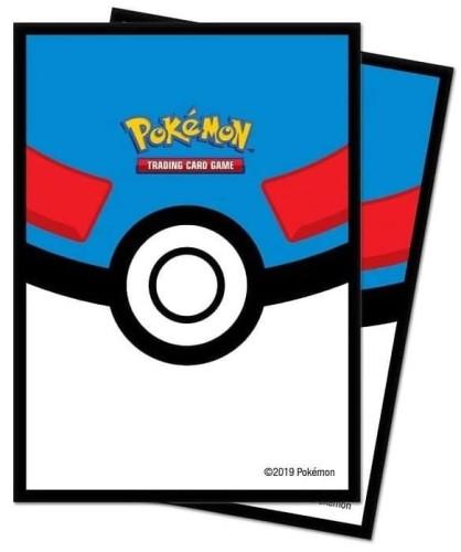 Koszulki Ultra-Pro - Standard Sleeves Pokémon - Great Ball - 65 szt.
