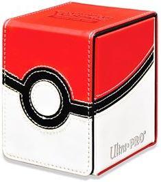 Pudełko na talie (Deck Box) - Alcove Flip Box Pokemon - Poke Ball