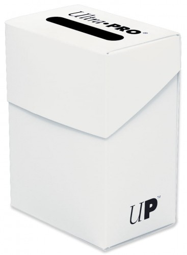 Pudełko na talie (Deck Box) - White (Białe)