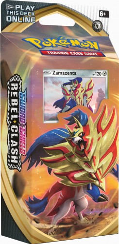 Pokemon TCG: Rebel Clash - Theme Deck (Zamazenta)