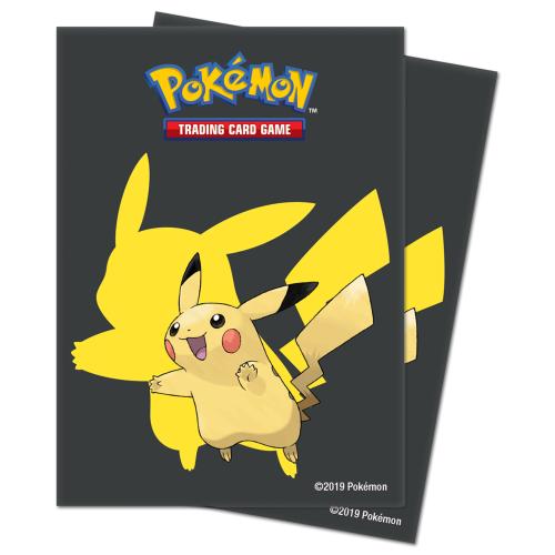 Koszulki Ultra-Pro - Standard Sleeves Pokémon - Pikachu - 65 szt.