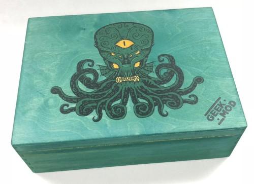 Geekmod - Skrzynia dedykowana grze Arkham Horror: Gra karciana (edycja 2018)