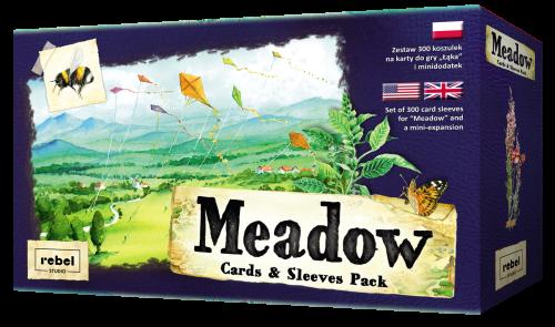 Łąka (Meadow): Koszulki z zestawem kart