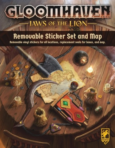 Gloomhaven: Jaws of the Lion Removable Sticker Sheet