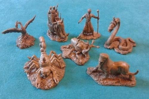 Kemet: 7 Creatures