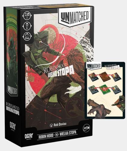 Unmatched: Robin Hood vs Wielka Stopa (plus karty promo)
