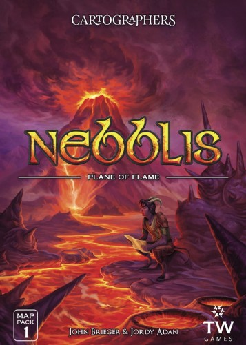 Cartographers Map Pack 1 - Nebblis: Plane of Flame Expansion
