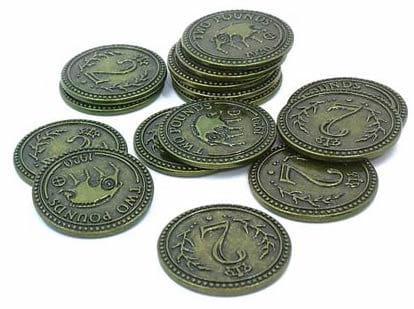 Scythe -15 metalowych monet 2$ (Promo #10)