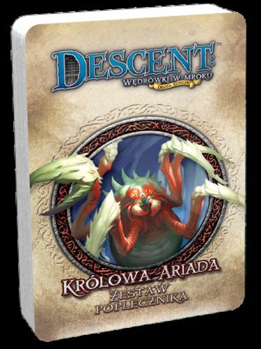 Descent: Wędrówki w Mroku - Królowa Ariada talia poplecznika