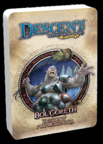 Descent: Wędrówki w Mroku - BolGoreth - talia poplecznika