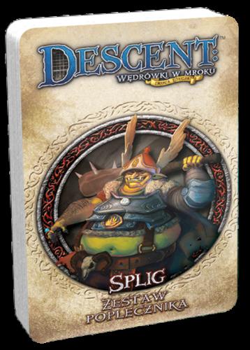 Descent: Wędrówki w Mroku - Splig talia poplecznika