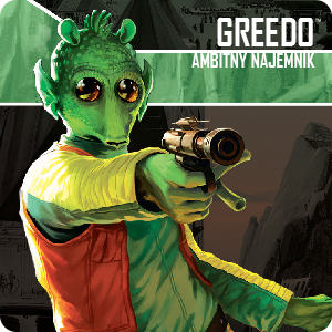Star Wars: Imperium Atakuje - Greedo, Ambitny Najemnik - zestaw przeciwnika