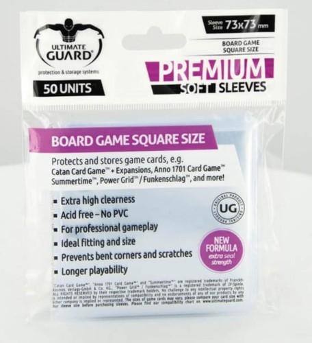 Koszulki Ultimate Guard Premium - Square Size (50 sztuk)