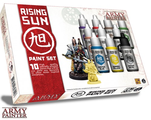Warpaints Rising Sun Paint Set