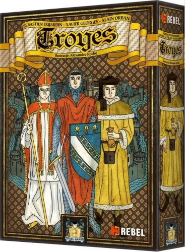 Troyes + 4 karty promo (edycja polska)