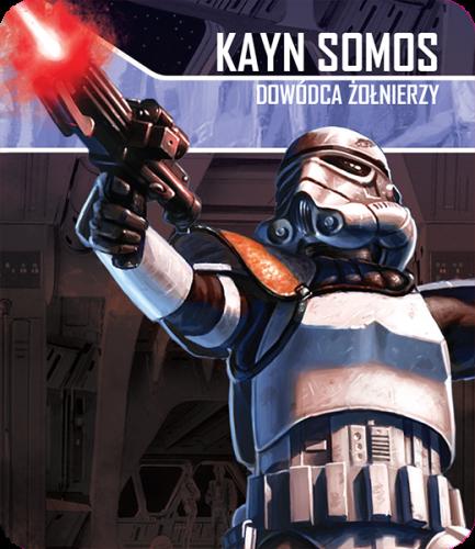 Star Wars: Imperium Atakuje - Kayn Somos - zestaw przeciwnika