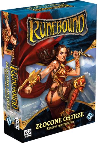 Runebound (trzecia edycja) Zestaw Przygodowy - Złocone Ostrze