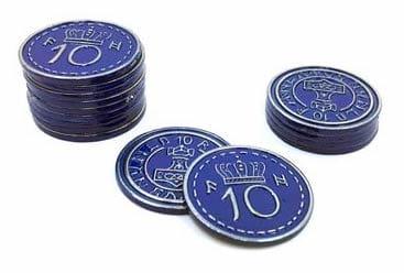 Scythe -15 metalowych monet 10$ (Promo #15)