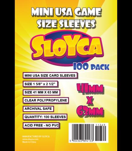 Koszulki Sloyca Mini USA 41x63mm - 100 sztuk