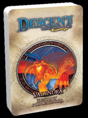 Descent: Wędrówki w Mroku - Valyndra talia poplecznika
