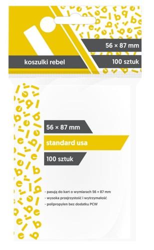 Koszulki Rebel (56x87 mm) Standard USA - 100 sztuk