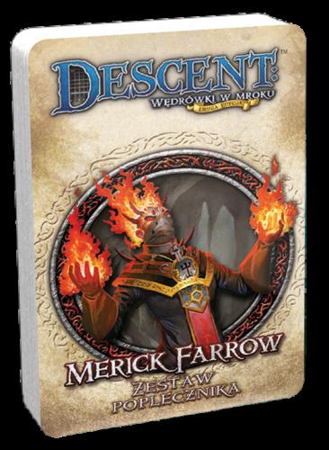 Descent: Wędrówki w Mroku - Merick Farrow - talia poplecznika