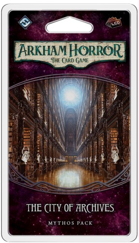 Arkham Horror: The Card Game - City of Archives: Mythos Pack