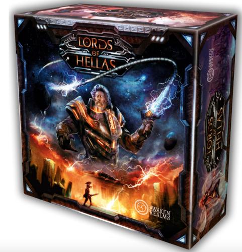Lords of Hellas (edycja polska) + Odyseusz