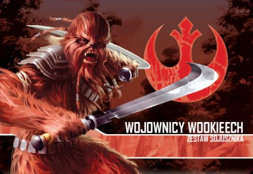 Star Wars: Imperium Atakuje - Wojownicy Wookieech zestaw sojusznika