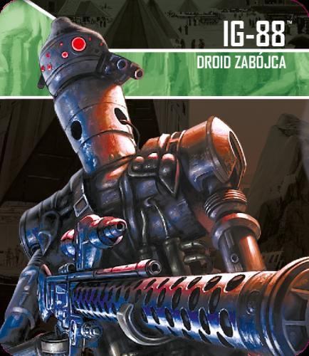 Star Wars: Imperium Atakuje - IG-88, Droid zabójca zestaw przeciwnika