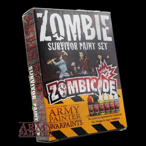 Warpaints Zombicide Survivor Set