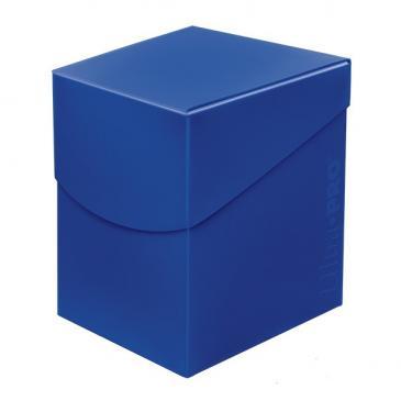 Pudełko na talie (Deck Box) - Eclipse Pro 100+ (Pacific Blue) (#85684)