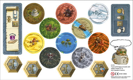 Terra Mystica: Erweiterungsbogen (promotional mini-expansion)