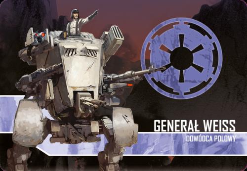 Star Wars: Imperium Atakuje - Generał Weiss, Dowódca polowy zestaw przeciwnika