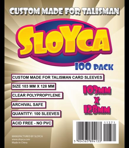 Koszulki Sloyca Talisman 103x128mm - 100 sztuk