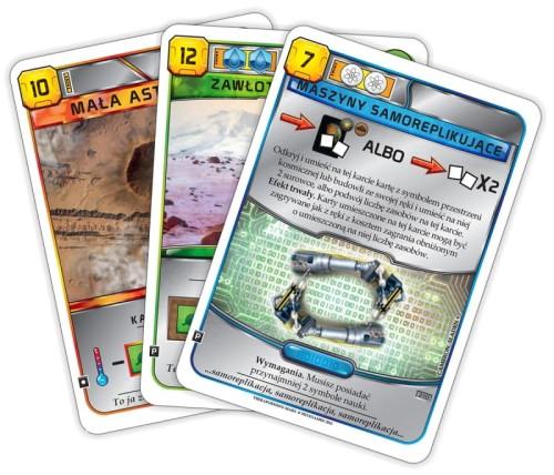 Terraformacja Marsa - zestaw dodatkowy #2 (3 karty)