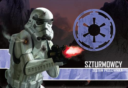 Star Wars: Imperium Atakuje - Szturmowcy zestaw przeciwnika