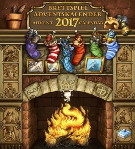 Brettspiel Adventskalender 2017 (Kalendarz Adwentowy)