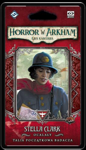 Horror w Arkham: Gra karciana - Stella Clark Talia początkowa badacza