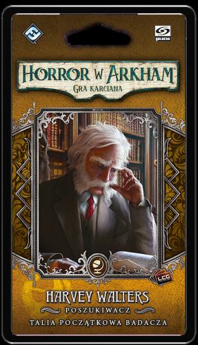 Horror w Arkham: Gra karciana - Harvey Walters Talia początkowa badacza