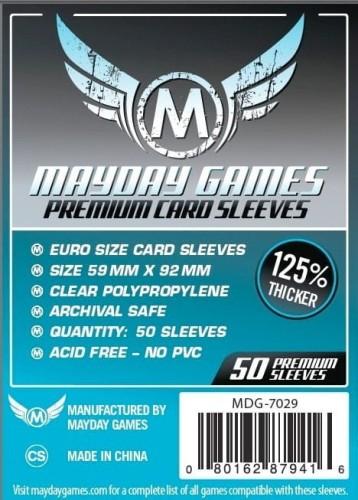 Koszulki Mayday Euro Premium - 59 x 92 mm - 50 sztuk