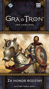 Gra o Tron: Gra karciana (druga edycja) Cykl Wojny Pięciu Królów Za honor rodziny