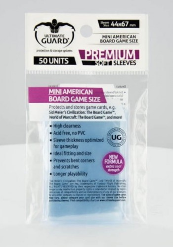 Koszulki Ultimate Guard Premium - MIni American (50 sztuk)
